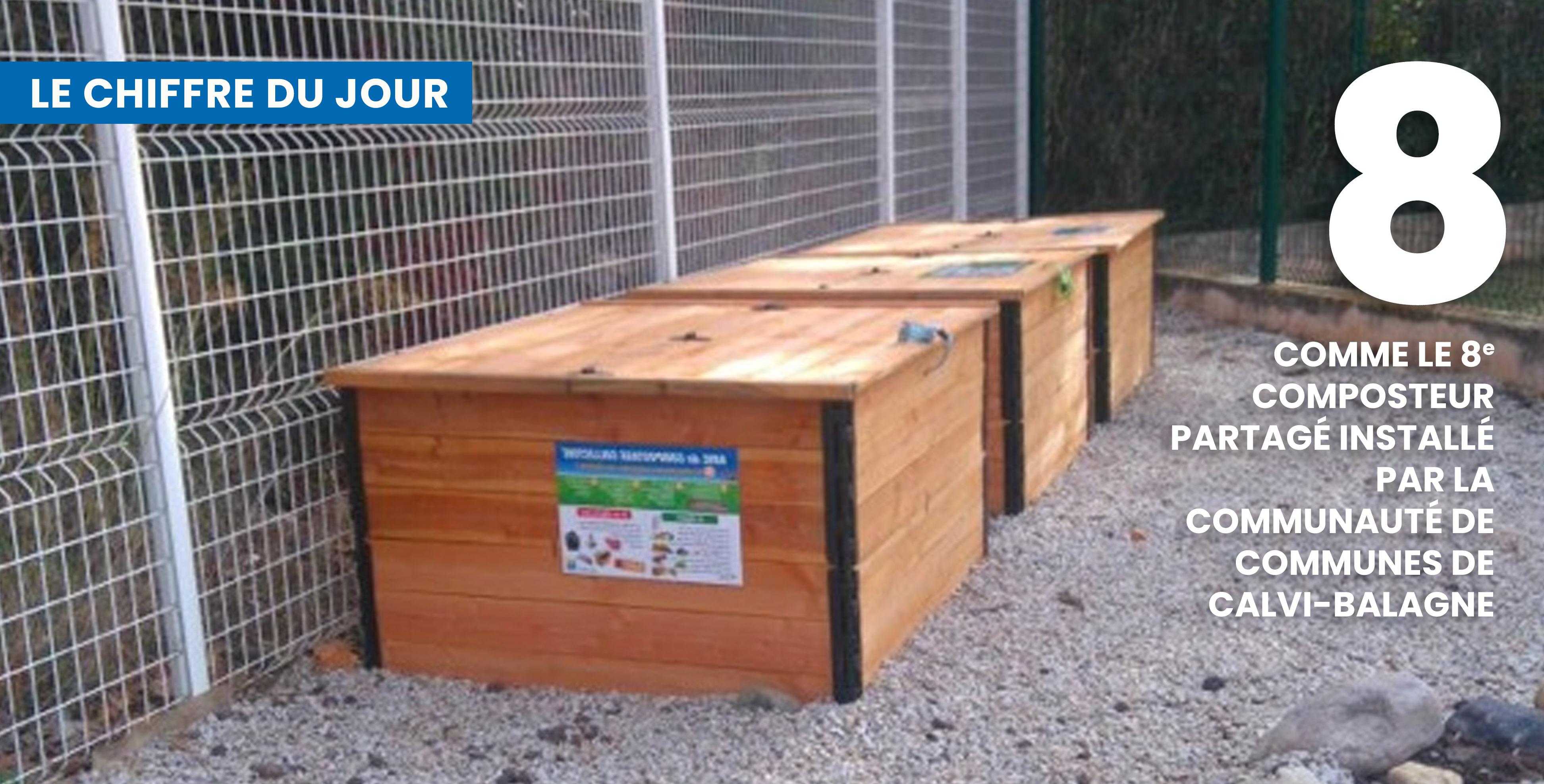 Les bacs installés dans  la résidence les Jardins de Cardellu à Calvi ©DR
