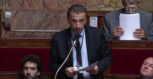 Paul-André Colombani, député Pè a Corsica de la 2ème circonscription de Corse-du-Sud, membre du groupe parlementaire Libertés & territoires.