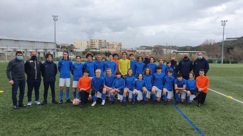José Alcocer s'est félicité de l'excellent travail du pôle espoirs de la Ligue Corse de Football (photo LCF)