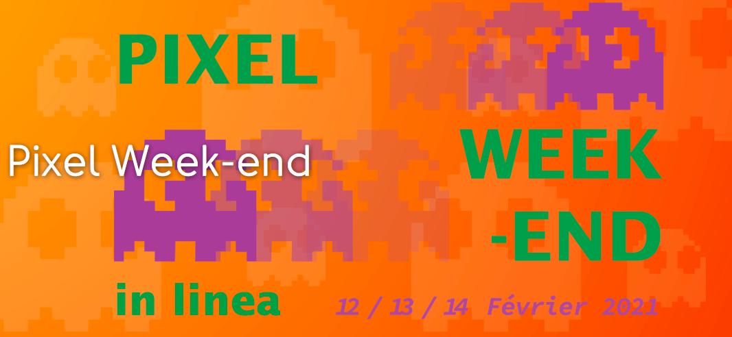 Pixel Week-end 2021 : votez en ligne pour attribuer le prix du public