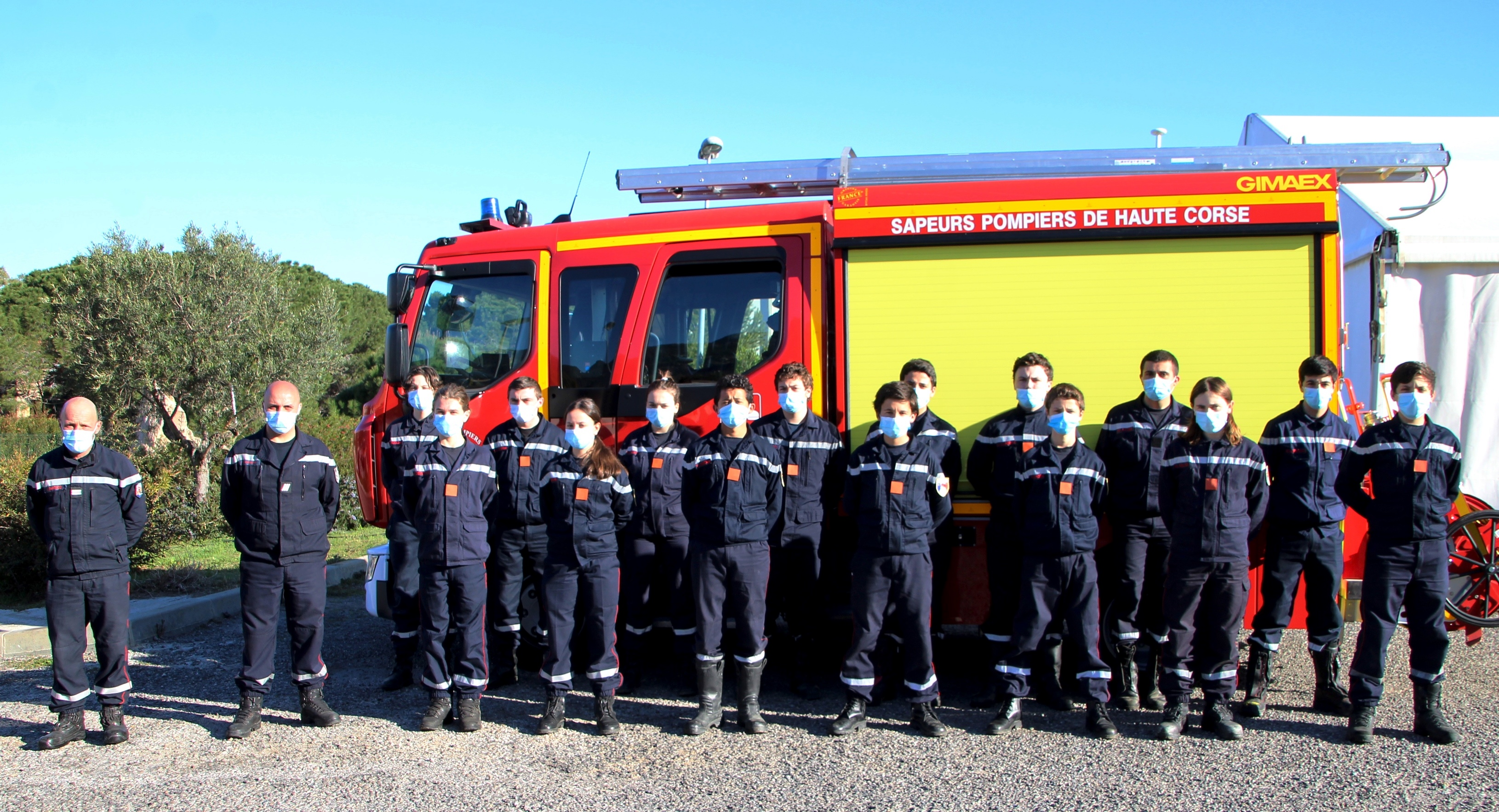 Formation PSE1 réussie pour les Jeunes sapeurs-pompiers Balanins