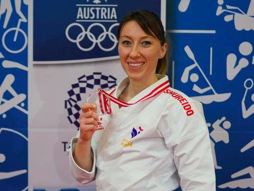 Retour à la compétition réussi pour Alexandra Feracci en Autriche