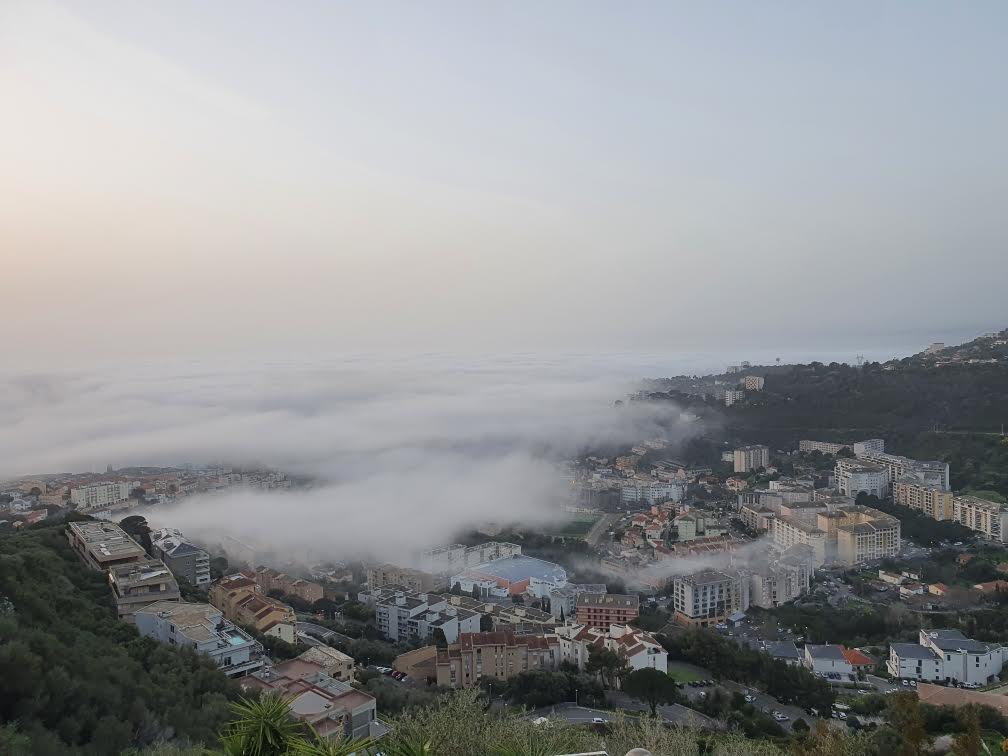 VIDEO - Bastia dans la brume