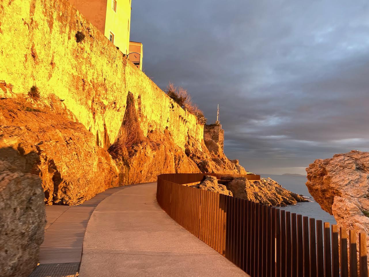 L'image du jour : l'Aldilonda di Bastia au petit matin