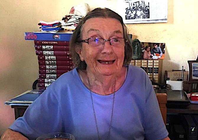 Jacqueline Debeuf, est décédée.
