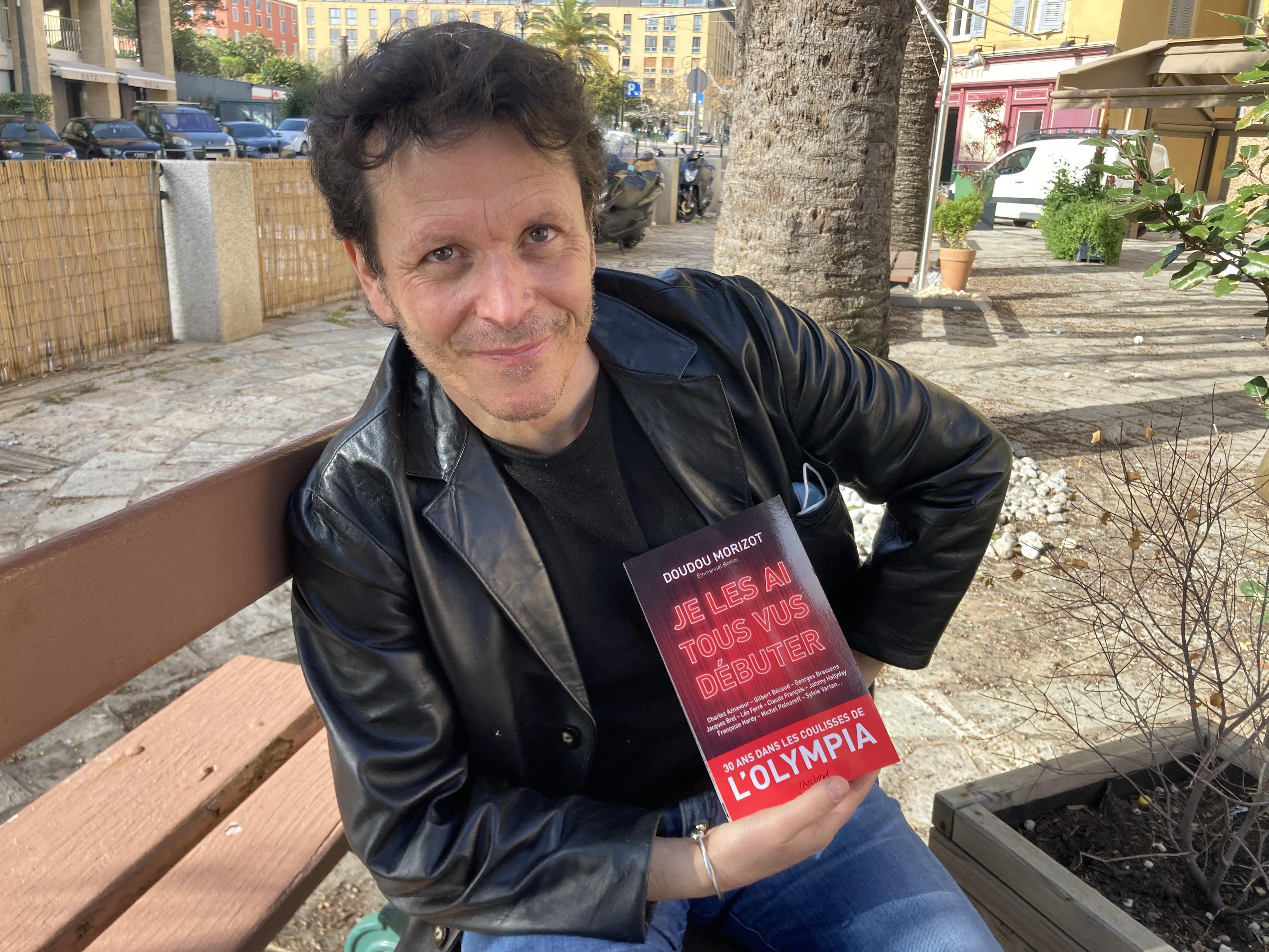 Emmanuel Bonini a coécrit avec Doudou Morizot «Je les ai tous vus débuter», sorti le 11 février dernier.