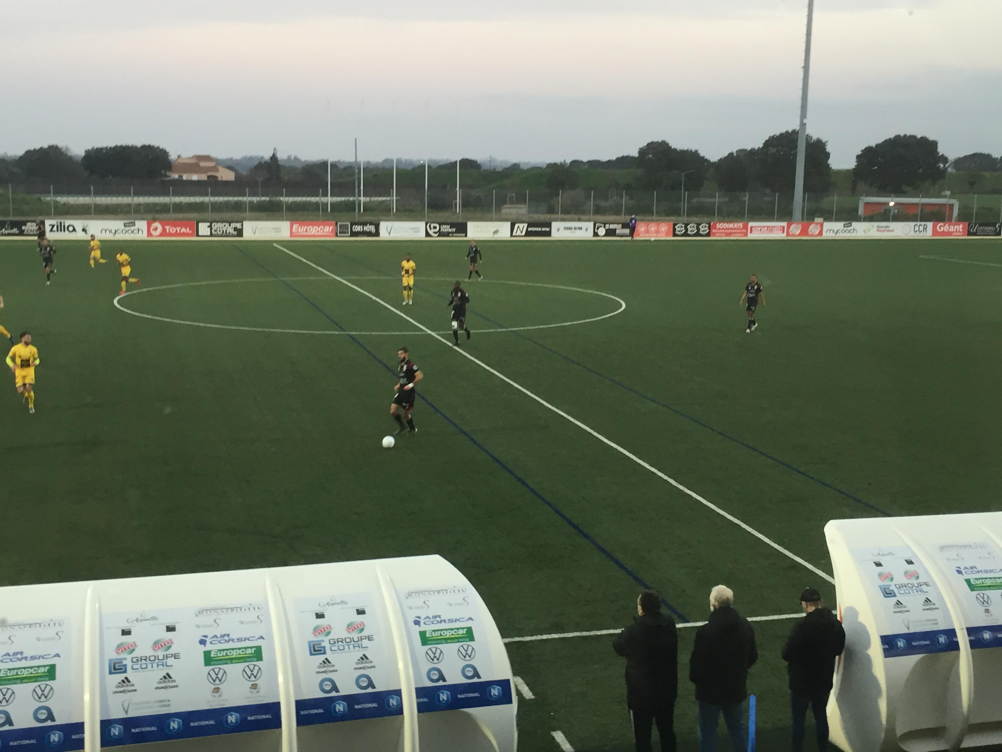 National : Manquant de justesse, le FCBB laisse la victoire à St Brieuc (1-3)