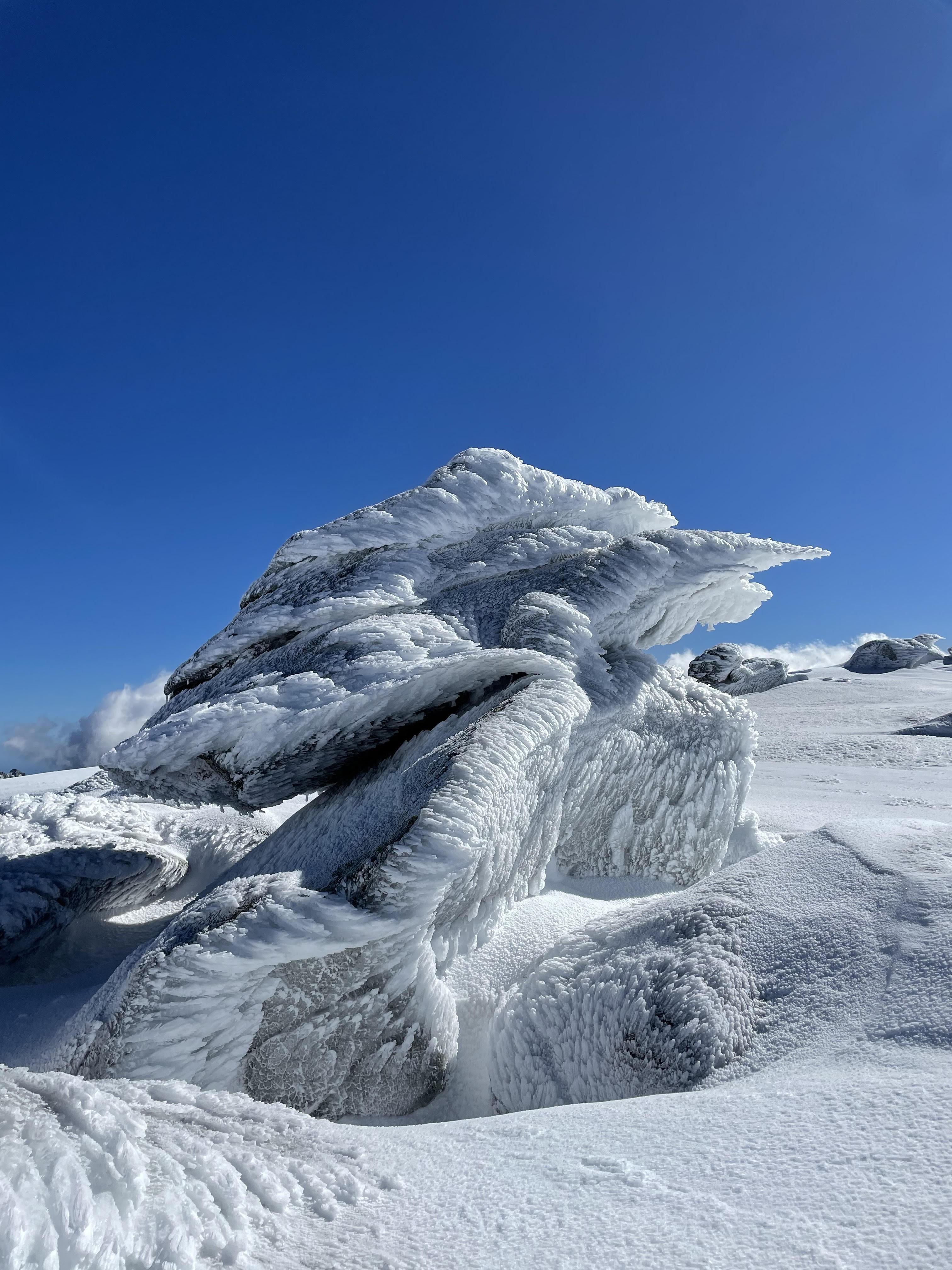 La photo du jour : les œuvres de la nature au-dessus de Bastelica