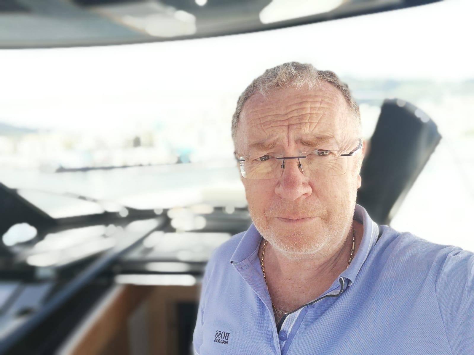 Le docteur Paul Marcaggi, créateur de l'application TravelPassword.