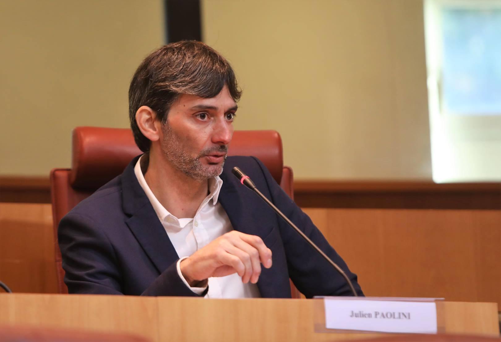Julien Paolini, conseiller territorial de Femu a Corsica et maire de Pietrosu.