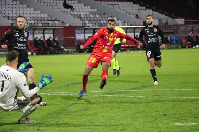 Le FC Bastia-Borgo surpris d'entrée de jeu à Bourg-Péronnas (0-1)
