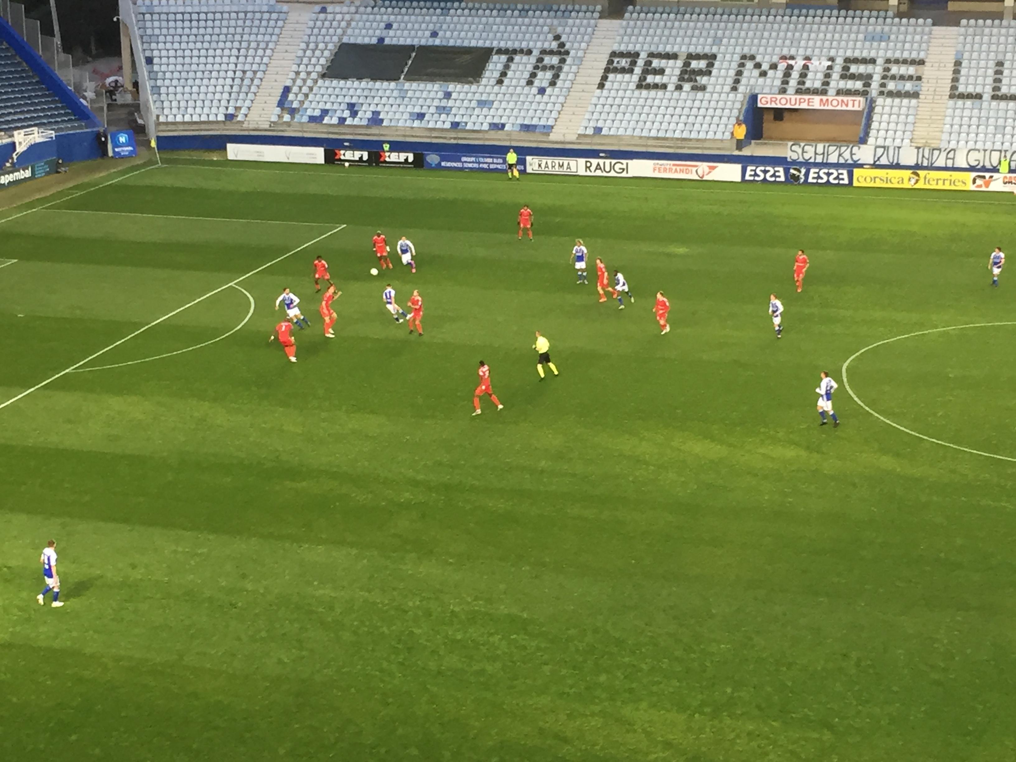 Football : Le SCB mal recompensé de ses efforts face  à Concarneau  (1-1) !
