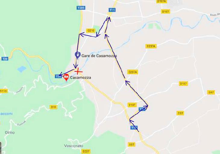 Pont de Casamozza : quatre semaines de fermeture pour travaux