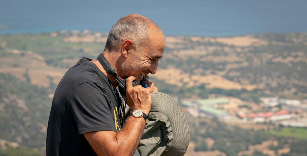 Eric peut sourire, les premiers retours sur son film sont positifs © Marvelous Productions - Photo : Angela Rossi