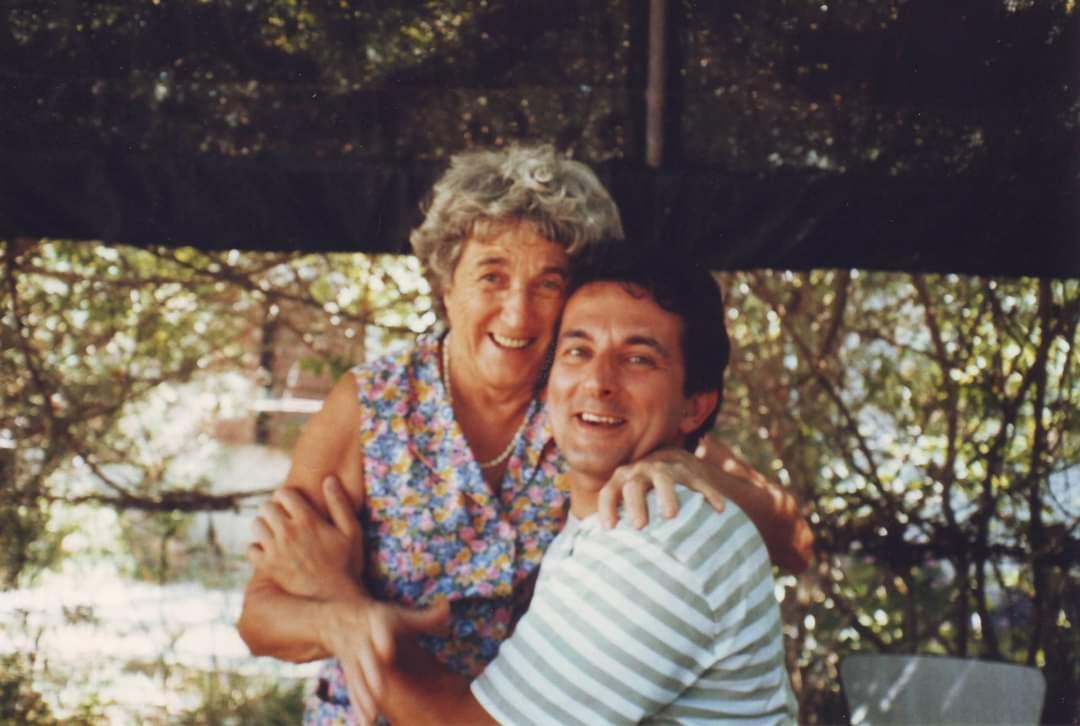 Arlette Guidoni maman de l'humoriste Michel Guidoni
