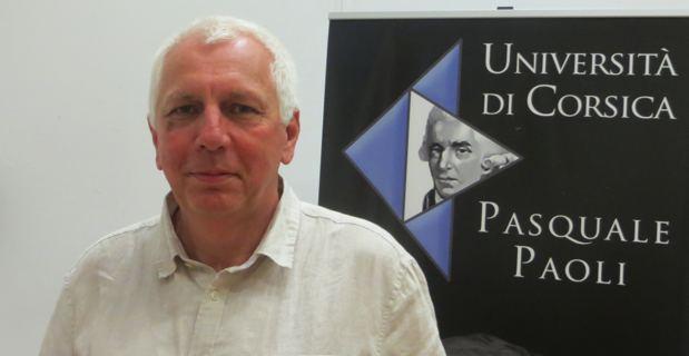 Saveriu Luciani, Conseiller exécutif en charge de la langue corse à la Collectivité de Corse et président de l'Office d'équipement hydraulique de la Corse.