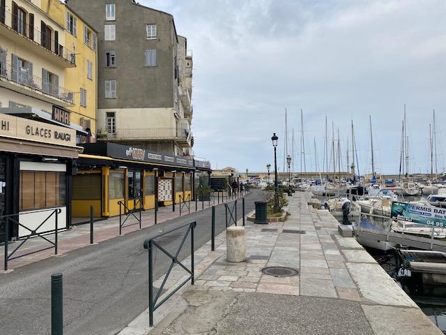 Le premier jour du confinement à Bastia, 17 mars 2020