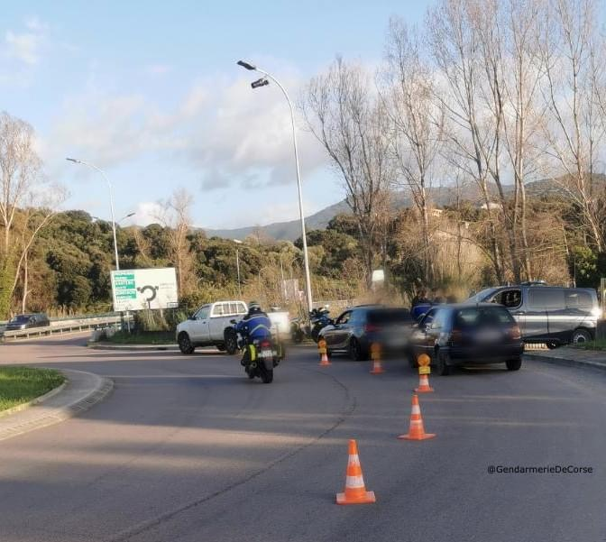 Photo page Facebook Gendarmerie de Corse