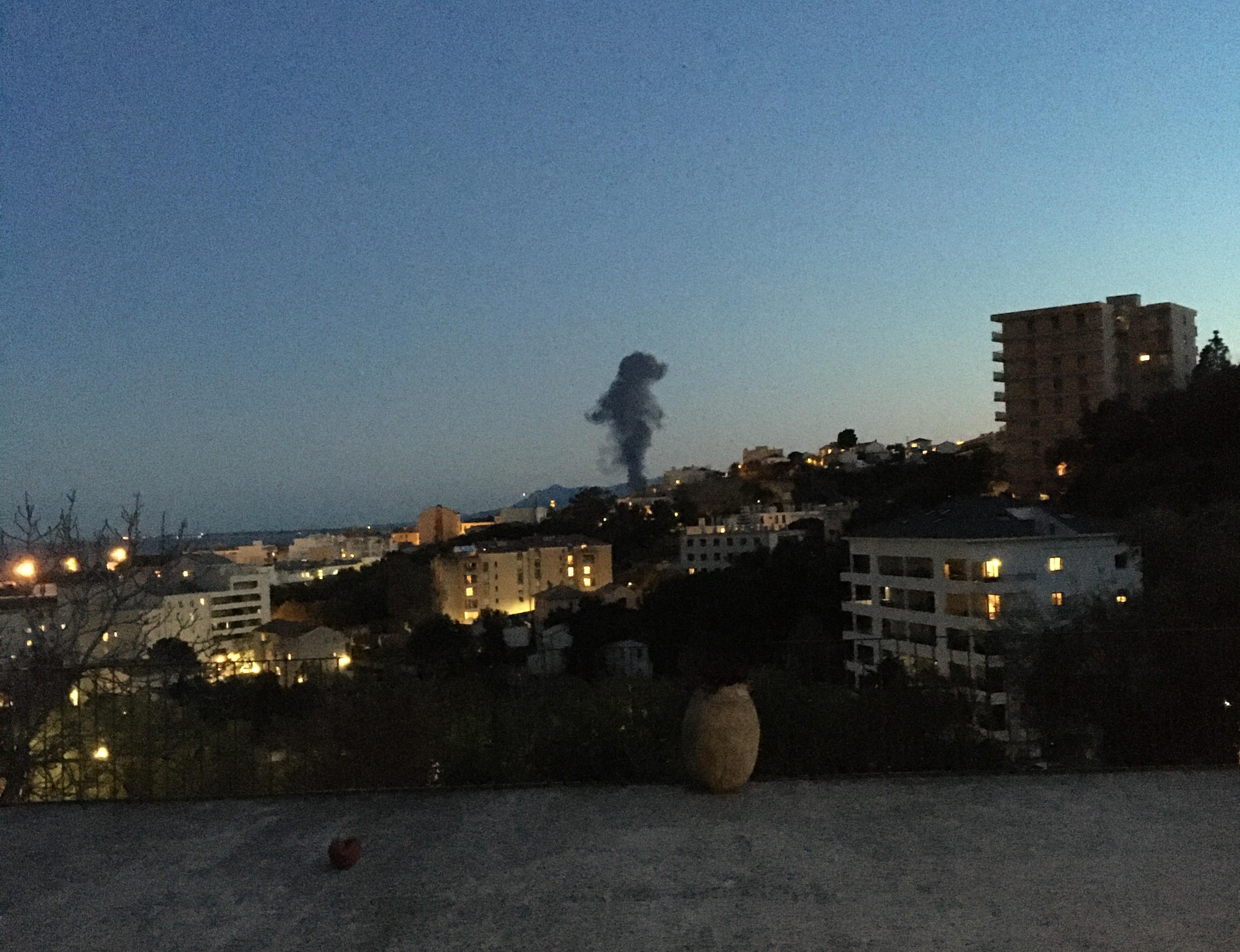 Biguglia : un incendie, probablement criminel, sur un site de traitement de déchets à Tragone
