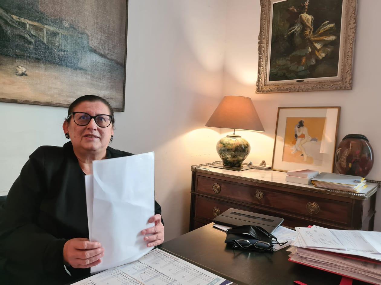 Christiane Muretti milite depuis des années pour la légalisation de l'euthanasie et du suicide médicalement assisté en France. Crédits Photo : Pierre-Manuel Pescetti