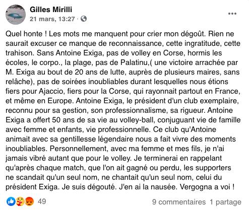 GFCA Volley : Vague de soutien après l'éviction d'Antoine Exiga