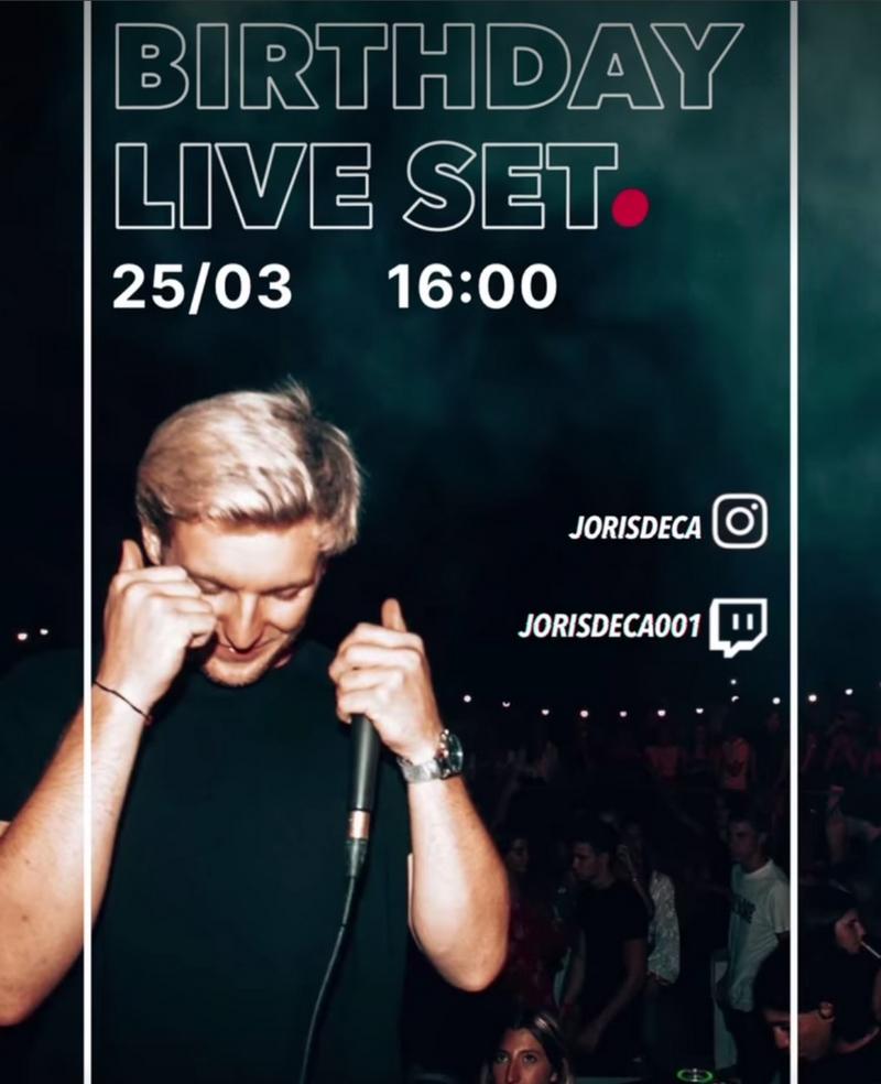 DJ Joris a besoin d'exprimer son talent