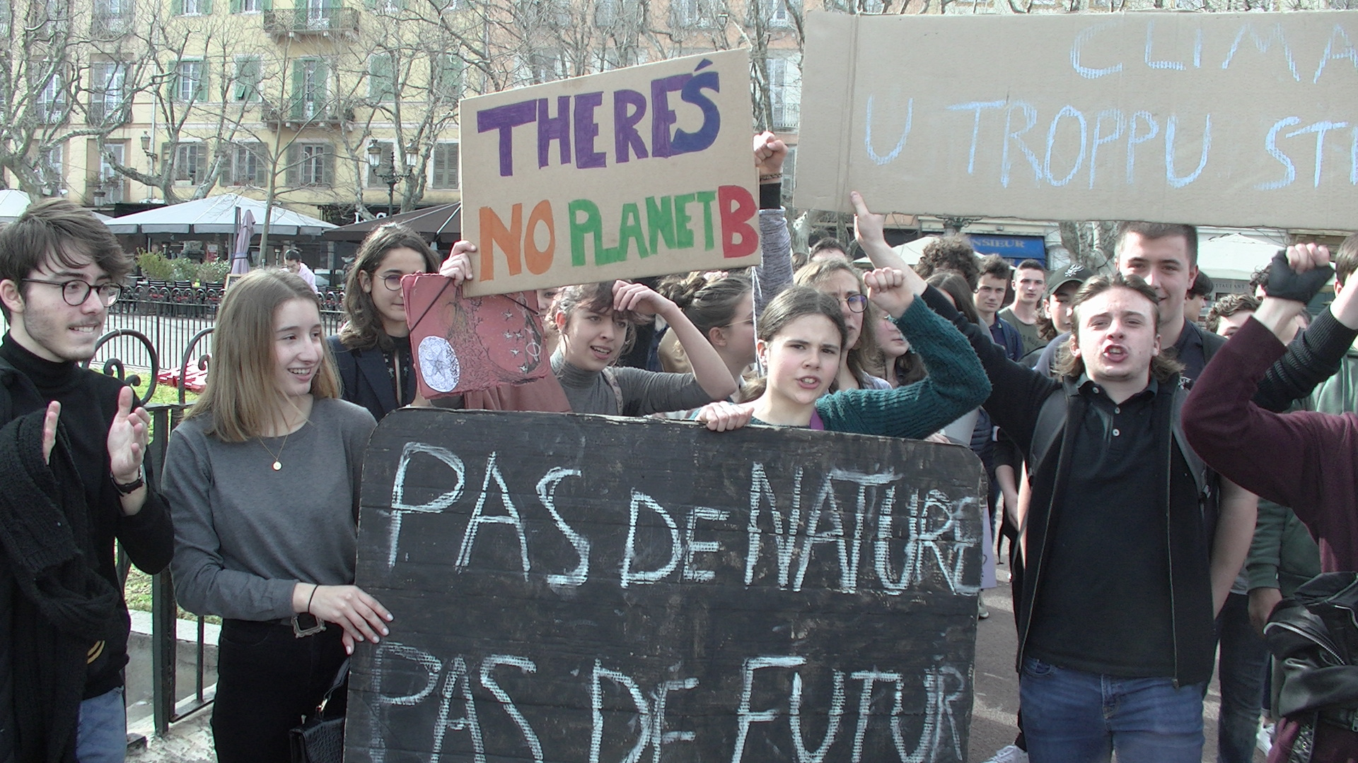 Image archives CNI, manifestation du 15 mars 2019 à Bastia