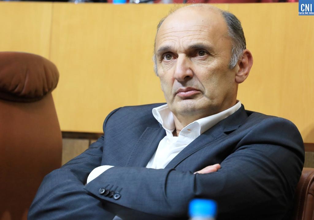 L'élu PNC Pierre Poli a interpellé l'Exécutif sur la cherté du carburant en Corse. Photo : Michel Luccioni