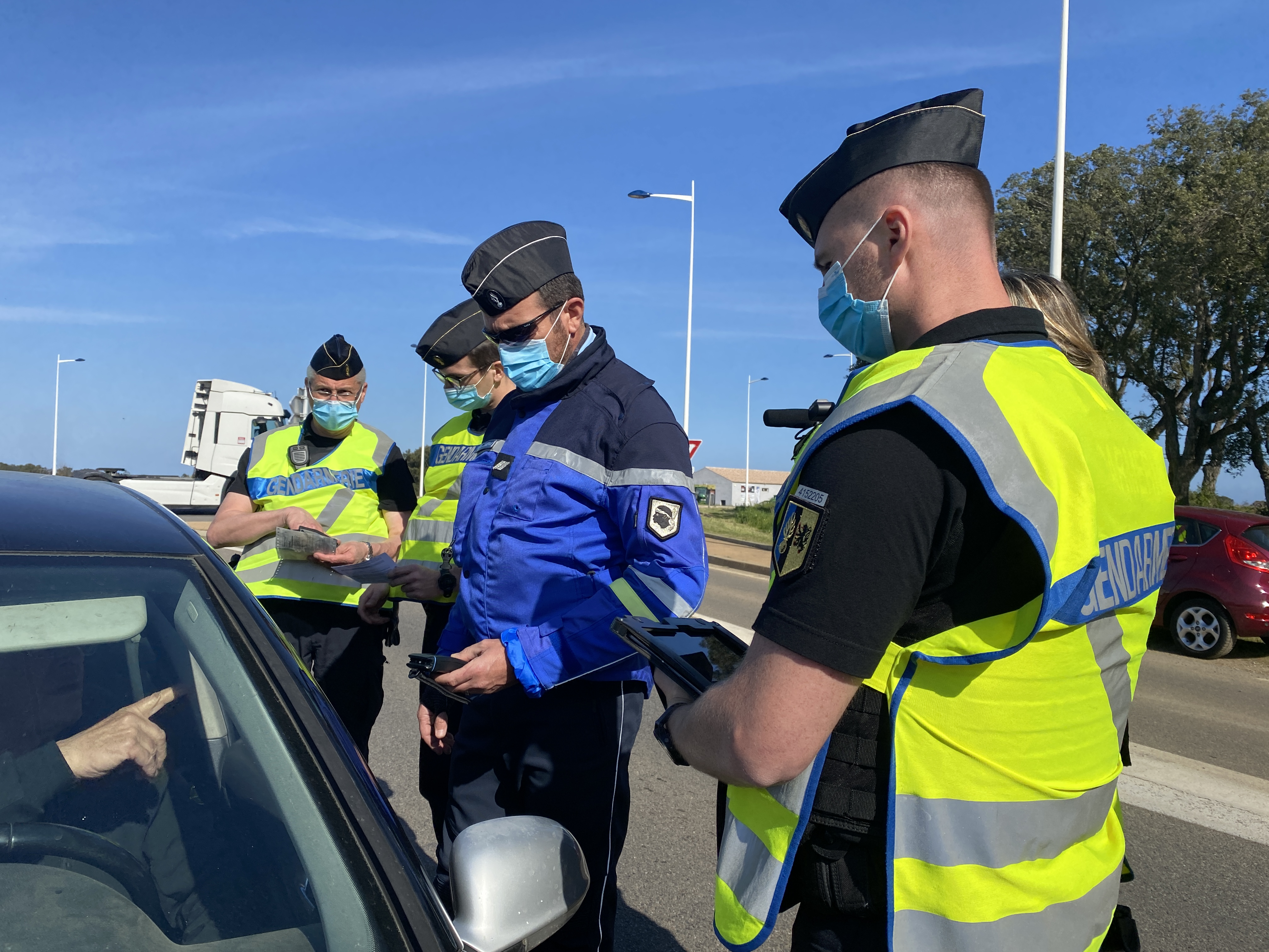 Sur les routes de Haute-Corse, 3203 sanctions pour excès de vitesse en 2020