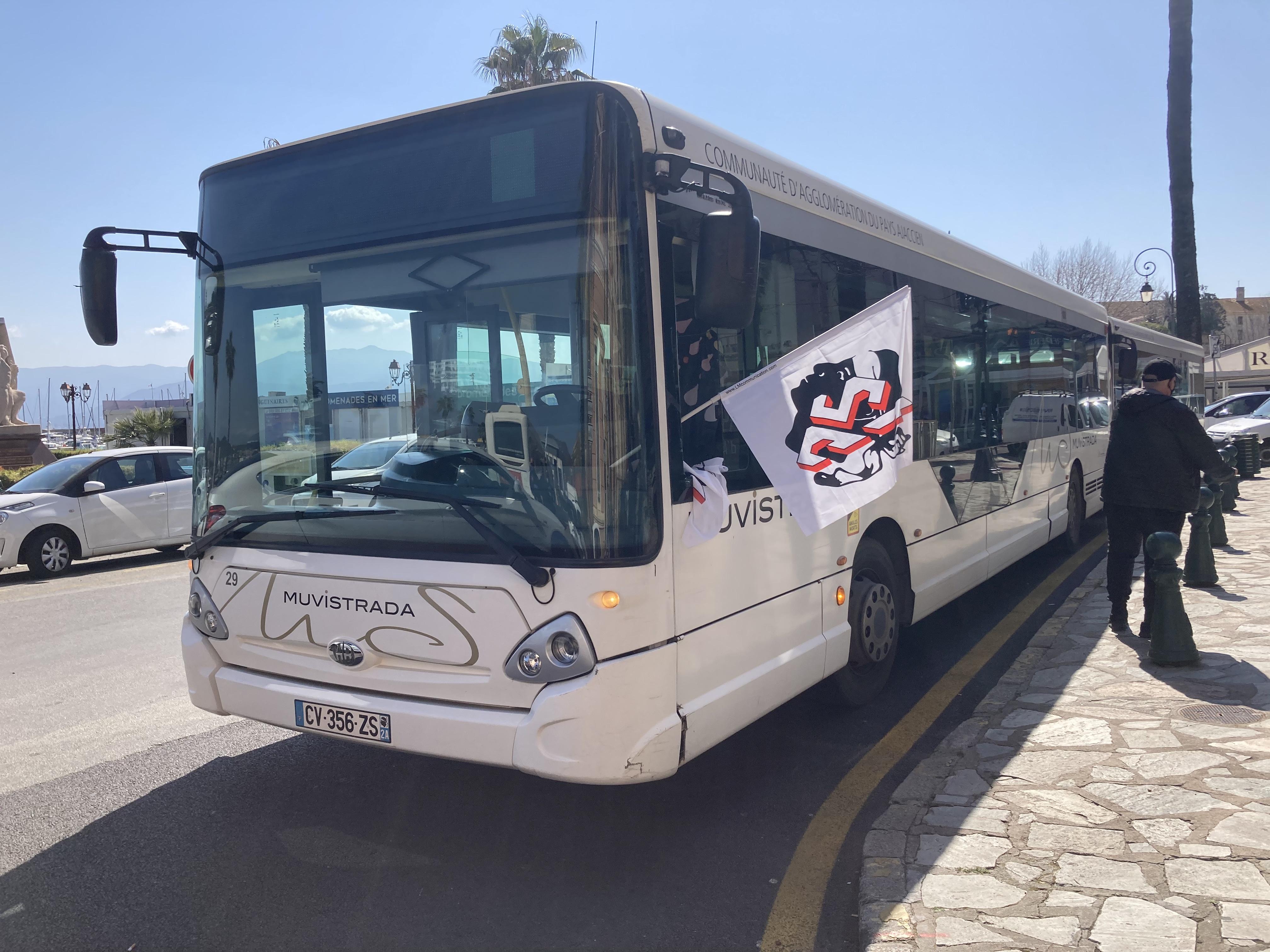 Ajaccio : le réseau de bus Muvistrada perturbé ce vendredi après l'incident de la veille