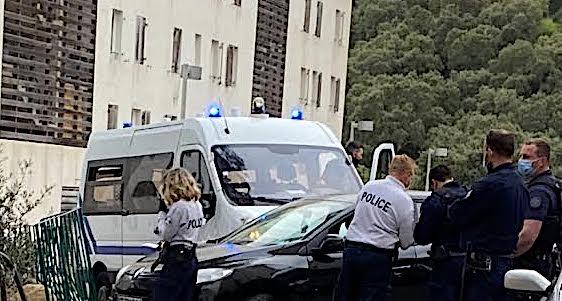 Bastia : la police intercepte la conductrice pressée