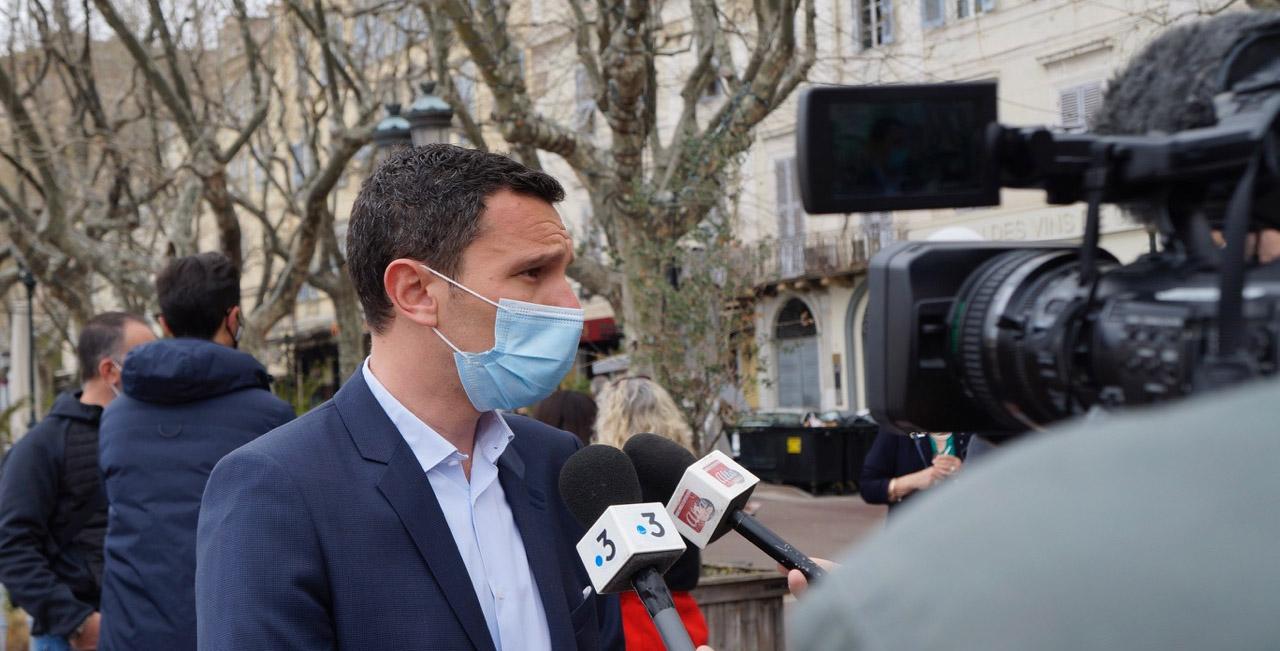 Julien Morganti a convoqué la presse ce dimanche à Bastia
