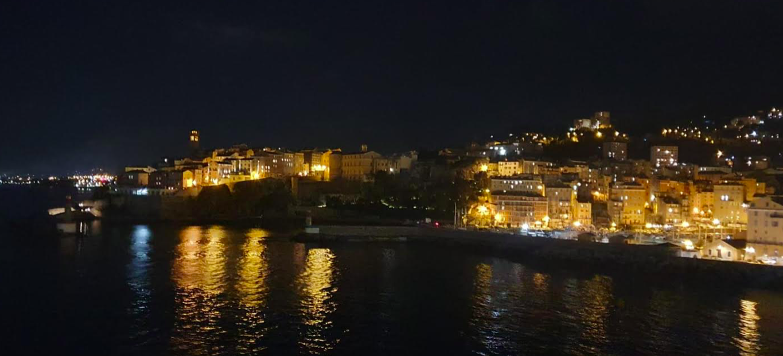 Bastia la nuit - Photo Marie-Laure Cristiano
