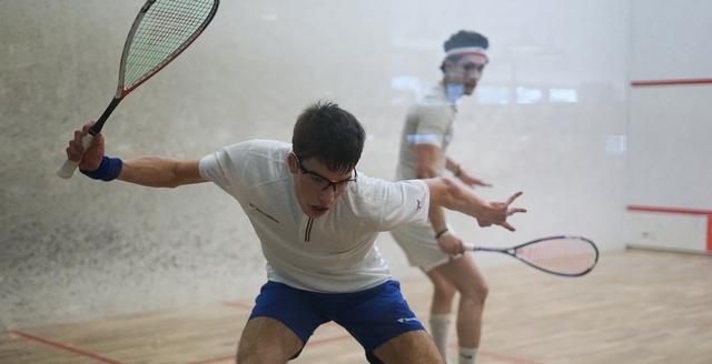 Squash. Open PSA d'Annecy:  Antonin Romieu tout près de l'exploit