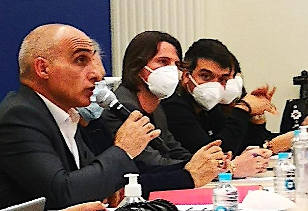 Le conseil présidé par François-Marie Marchetti