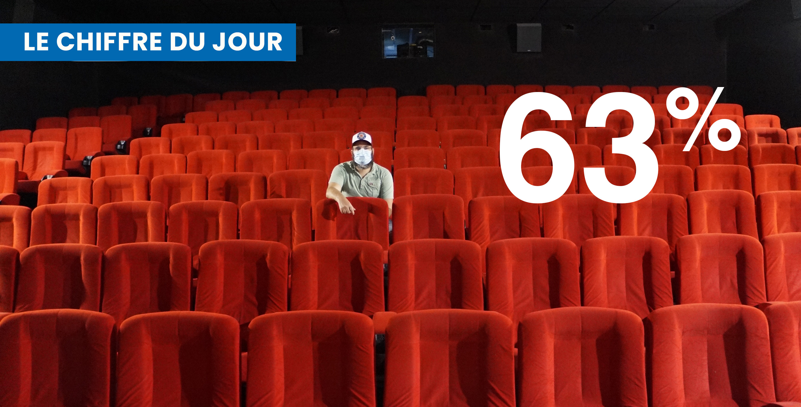 Daniel Benedittini attend avec impatience la réouverture de son cinéma