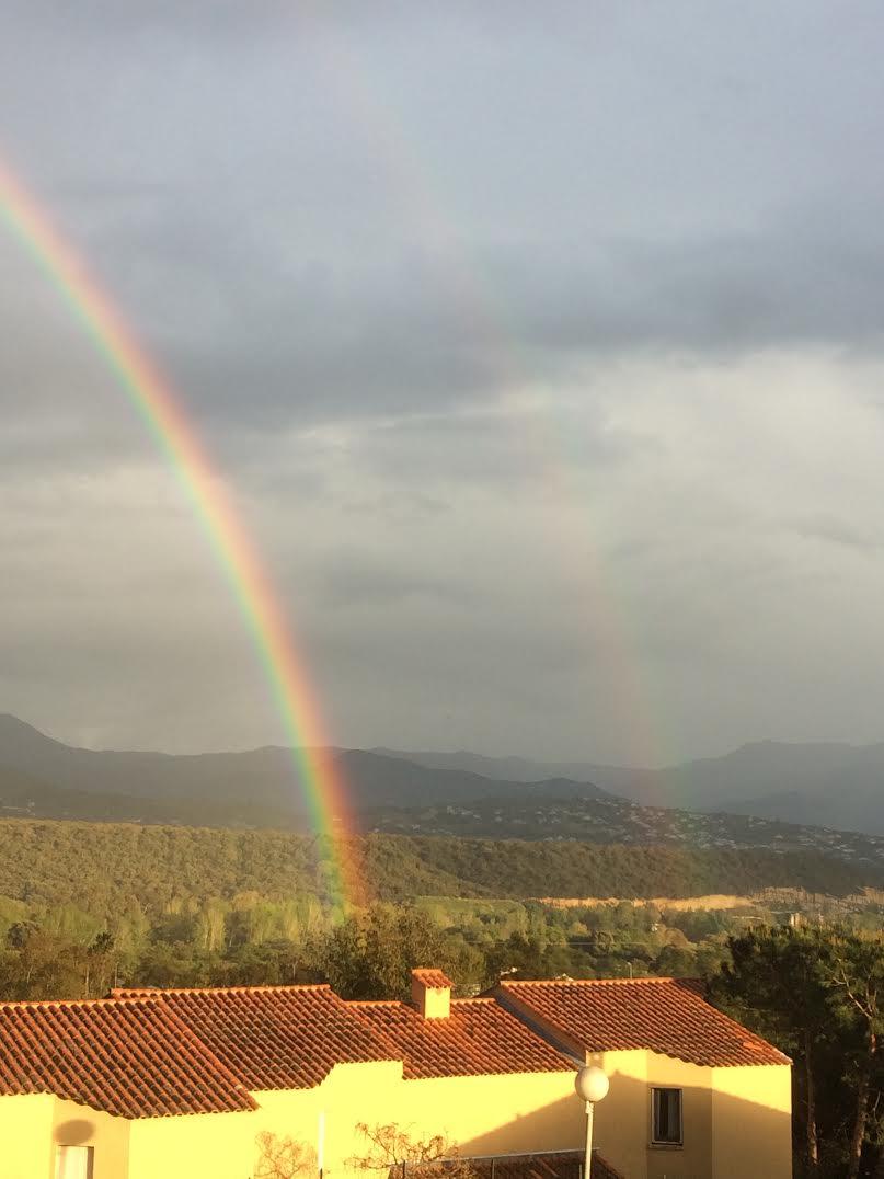 Double un arc-en-ciel dans la plaine de Sarrola-Carcopino (Marc Muselli)