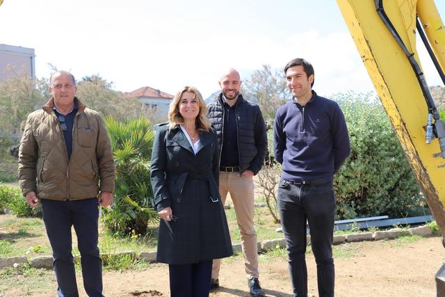Angèle Bastiani et les élus de Lisula