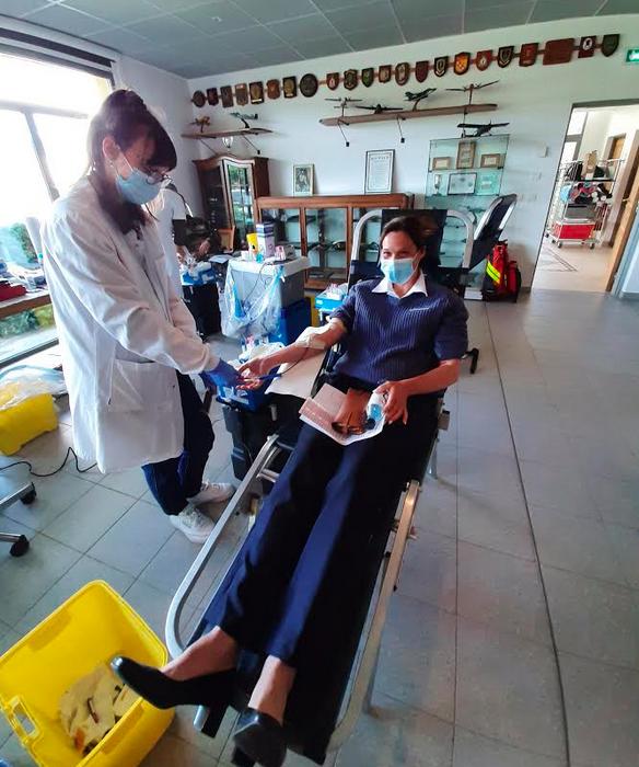 Don de sang : Une collecte exceptionnelle à la Base Aérienne 126 de Ventiseri-Solenzara