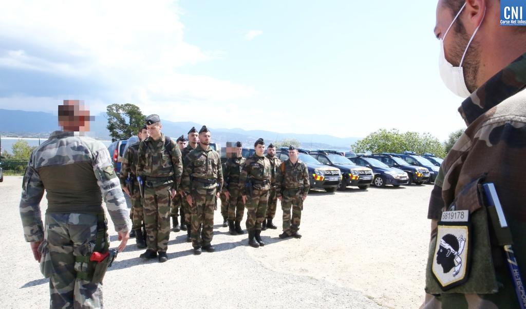 VIDEO - Aspretto : Quinze jours de stage pour devenir réserviste de la gendarmerie