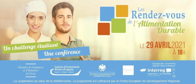 CCI de Corse : Une conférence virtuelle et et un challenge étudiant sur l'alimentation durable