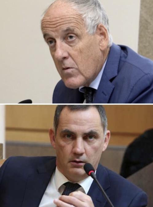 Pascal Lelarge et Gilles Simeoni.