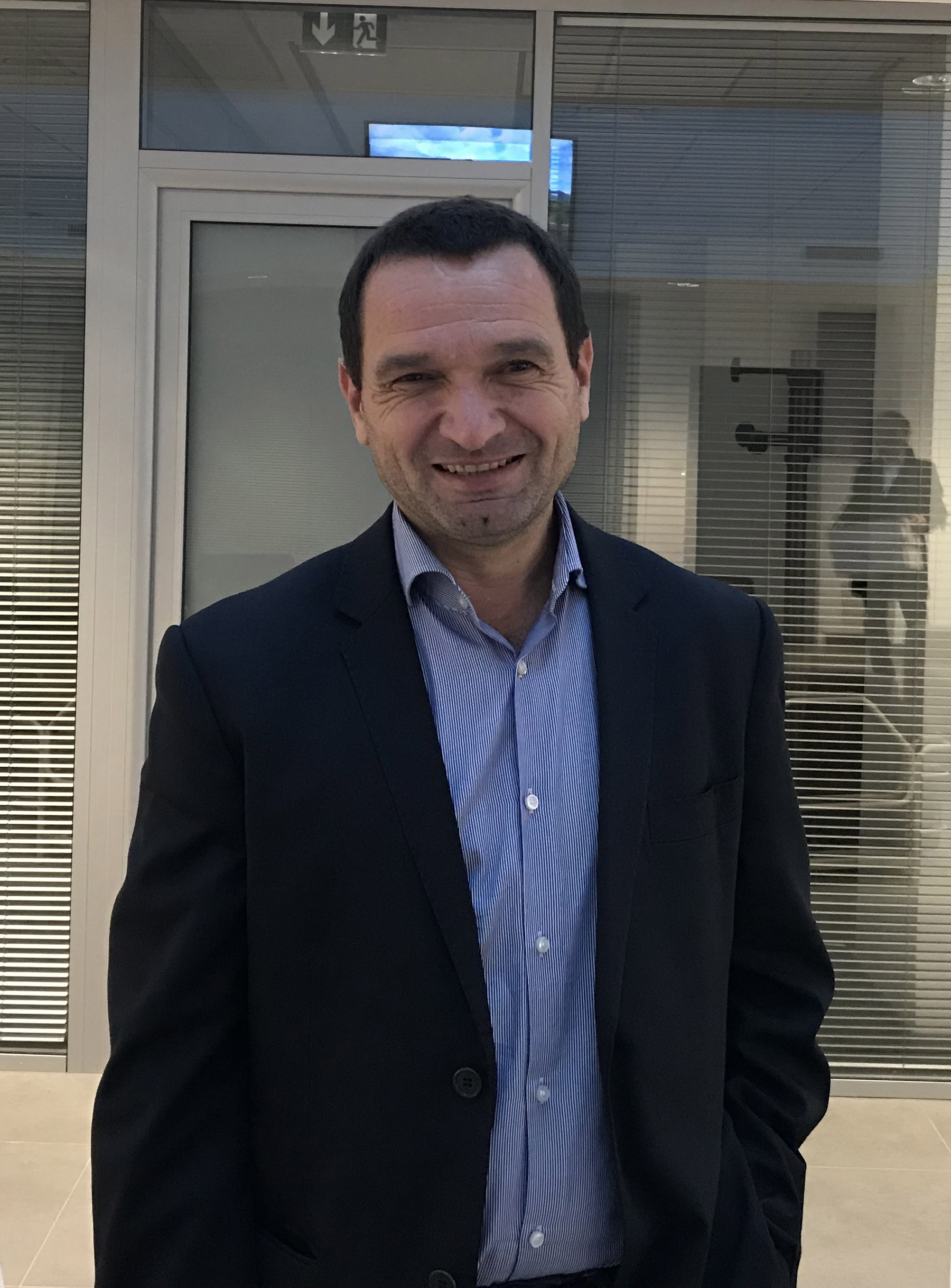 Hyacinthe Vanni, président des Chemins de fer de la Corse. Photo CNI.