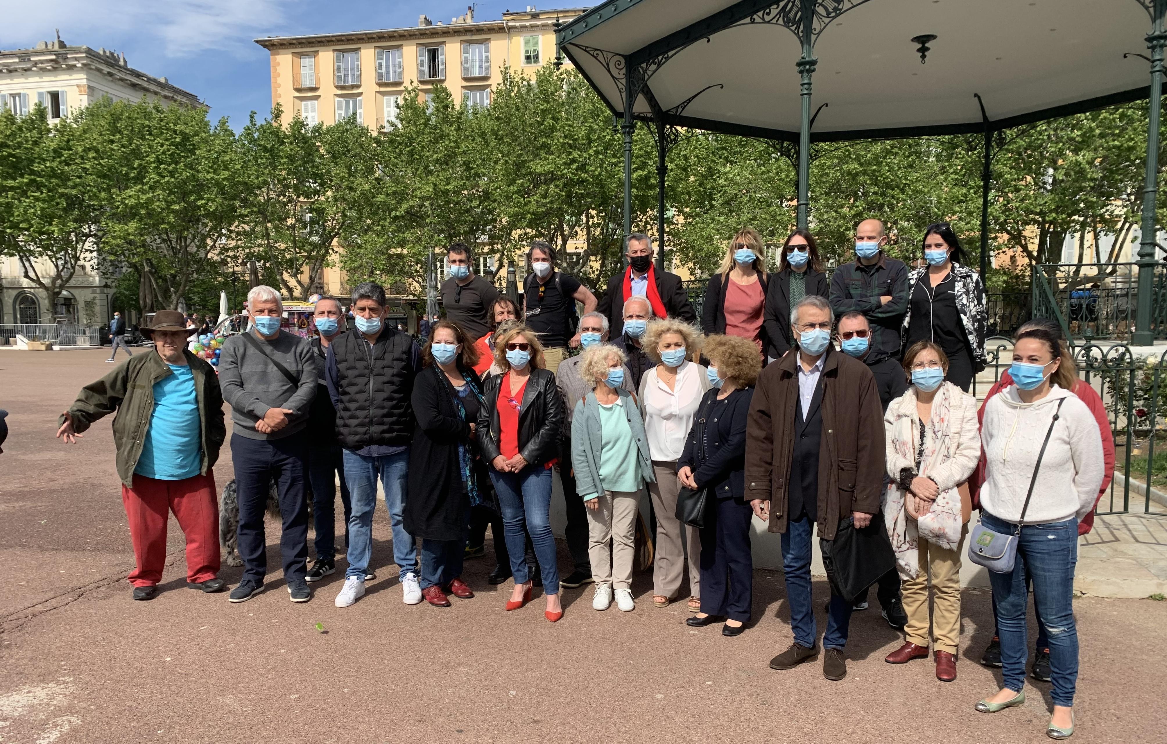 Territoriales : La liste communiste - Campà Megliu in Corsica – Vivre Mieux en Corse» - en ordre de marche