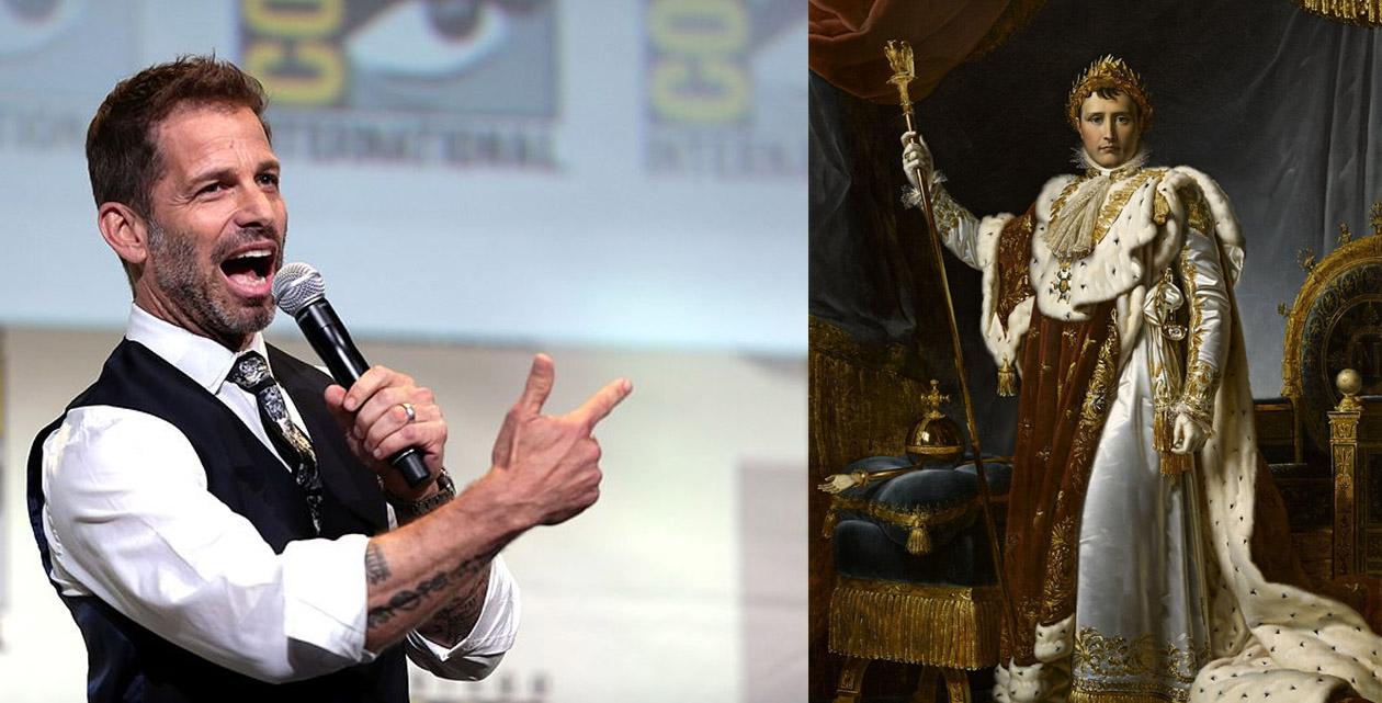 Zack Snyder veut aussi son Napoléon