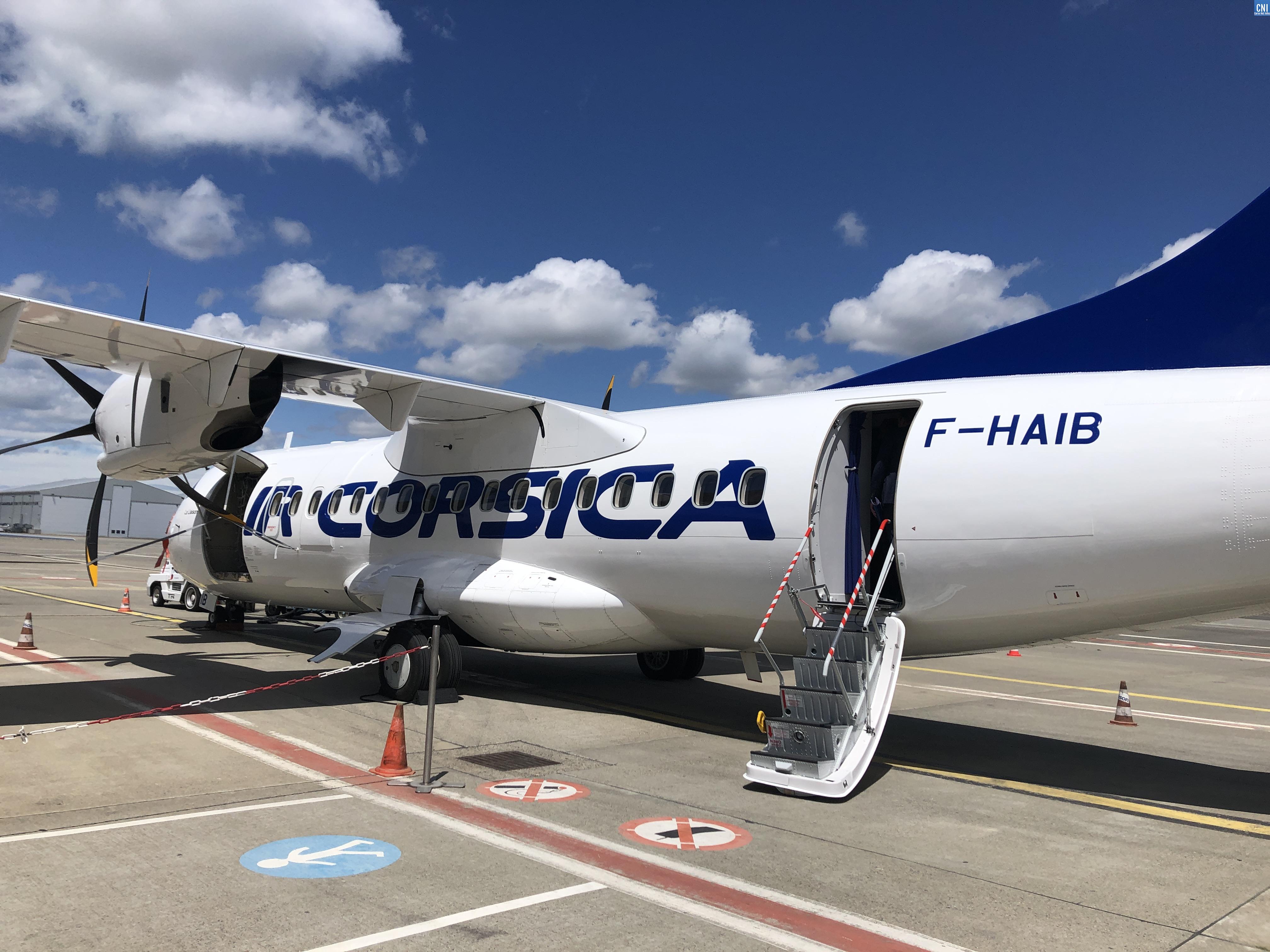 """Air Corsica lance la carte """"Air Corsica Mea"""". Photo : Michel Luccioni"""