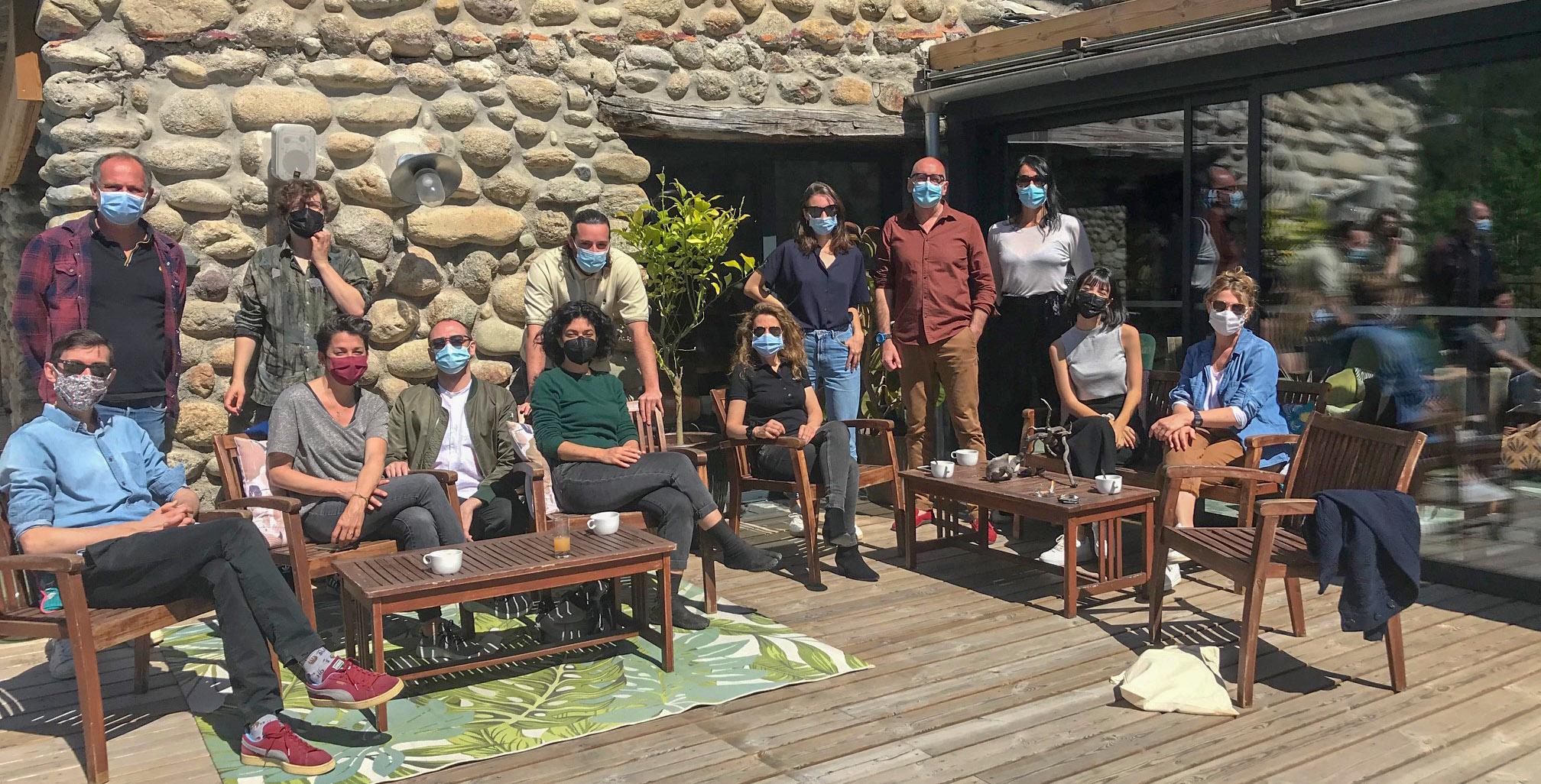 Les participants de cette première édition d'Eurodoc à Venaco