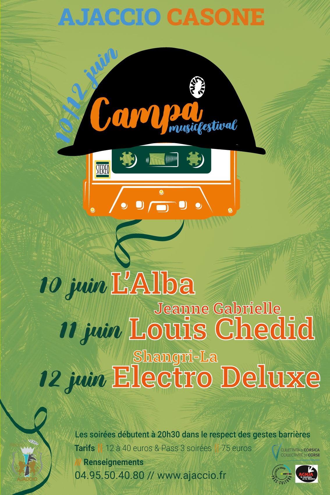 Campà Music Festival ouvre le bal des concerts d'été en Corse