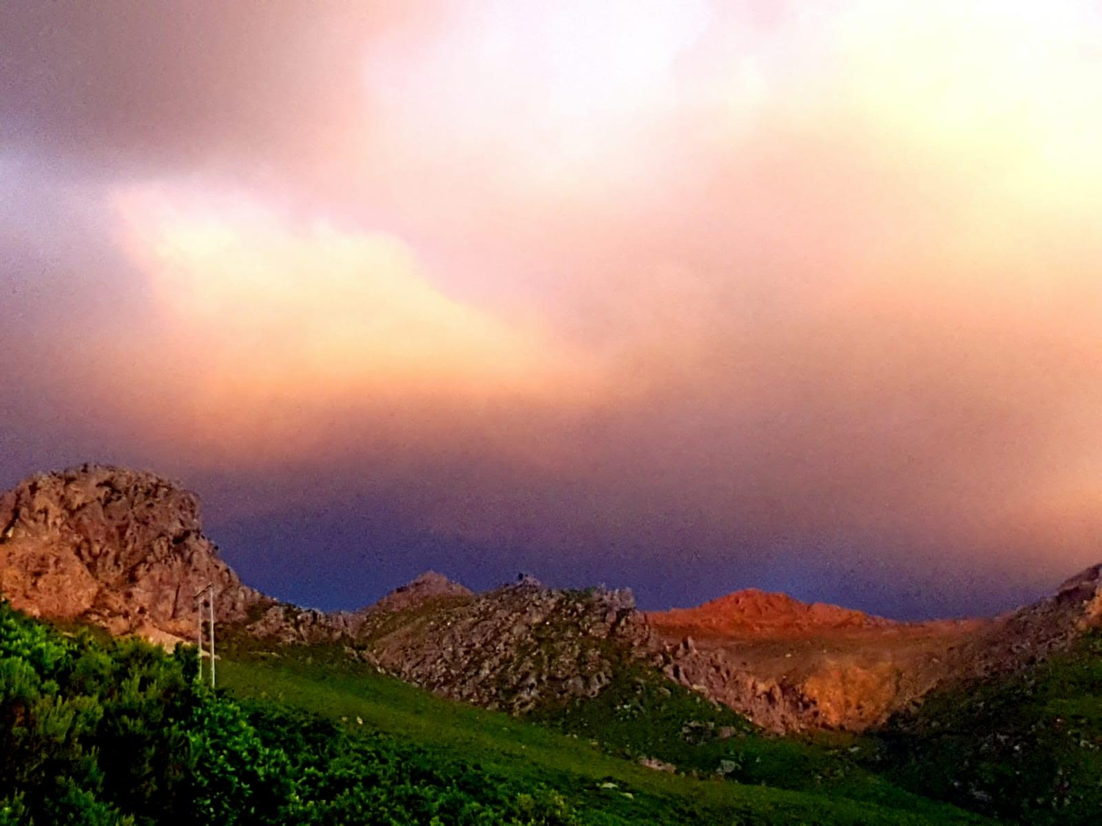 Lumière volcanique sur le Monte Stellu (Marité Valery)