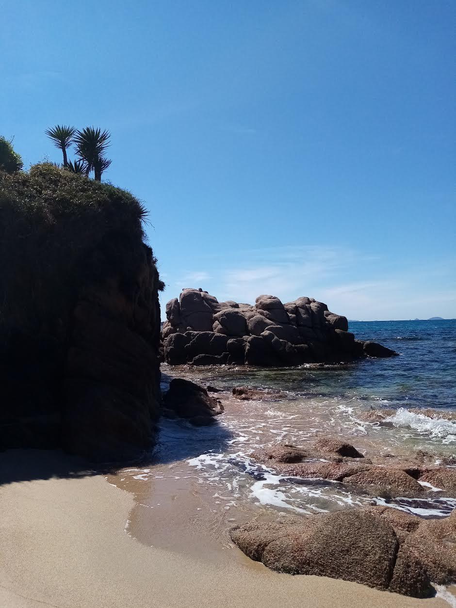 La photo du jour :  Agosta, comme un petit air des Seychelles
